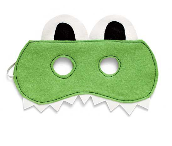 Alligator mask- with felt/foam