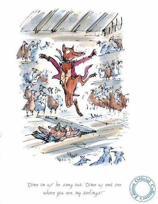 The Fantastic Mr Fox was one of my favourite books.