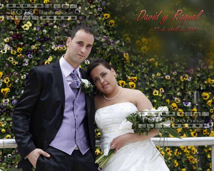 """Queremos felicitar a David y Raquel  en su séptimo Aniversario de Boda. Y agradecerles también que en su día apostasen por """"Foto Ibáñez"""""""