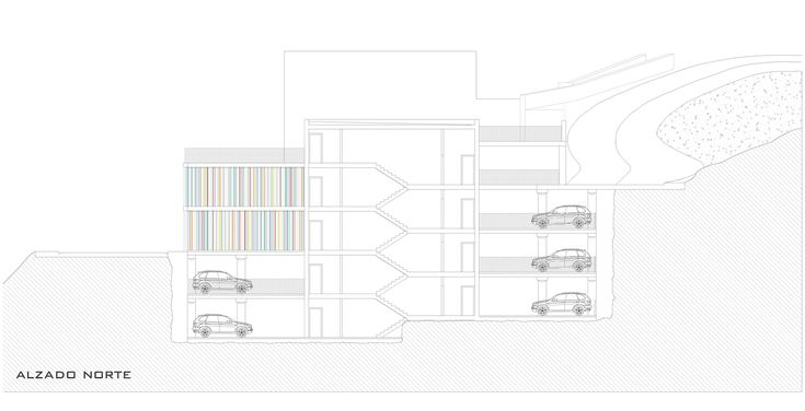 Maternity and Oncologic  Parking,Elevation