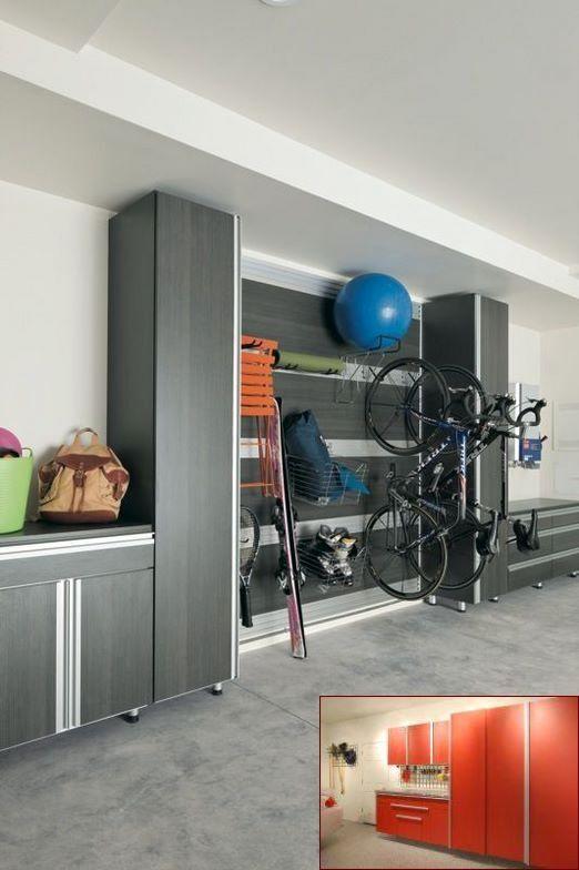 Garage Gym Storage And Pics Of Organization Hooks Garagemakeover