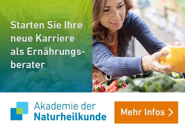 Ausbildung zum Ernährungsberater an der Akademie der Naturheilkunde
