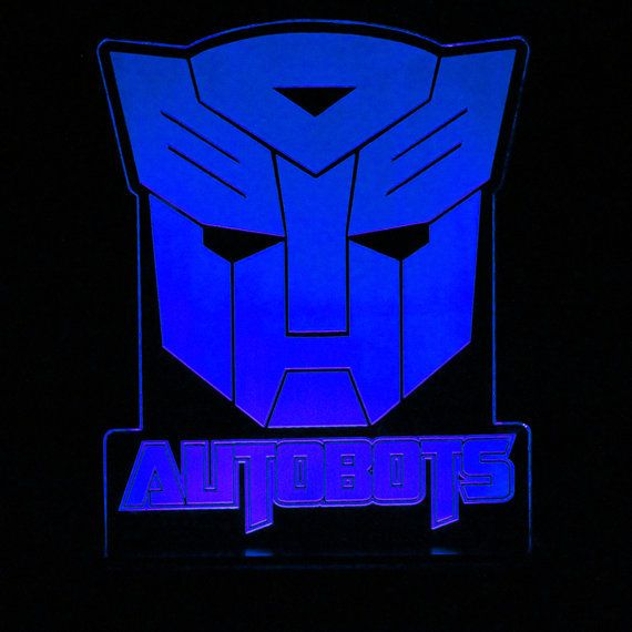 Check out this item in my Etsy shop https://www.etsy.com/listing/210045678/transformers-autobots-led-desk-light transformer autobots led light