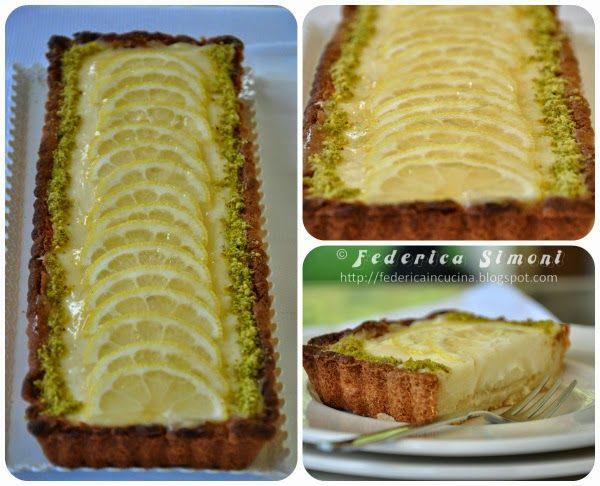 La cucina di Federica: Crostata con crema al limone