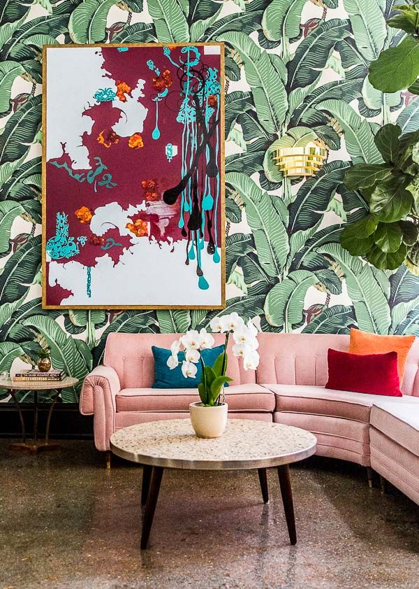 Last week, I drove up to Chattanooga, Tennessee for a girls trip, and spent a few days at the famed Dwell Hotel (that photo above is the lobby photo that everyone just HAS to take – including me). It
