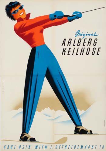 Original Arlberg Keilhose - (Hoffman) -