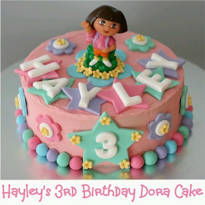 Dora cake, nice and simple this year!