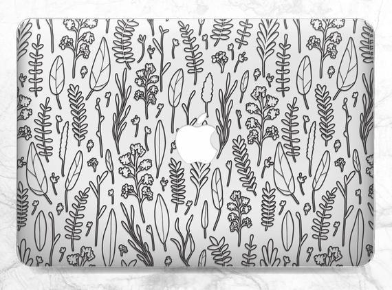 Macbook case minimalist Macbook Floral case Macbook hard case Macbook minimalism Macbook Pro case Ca
