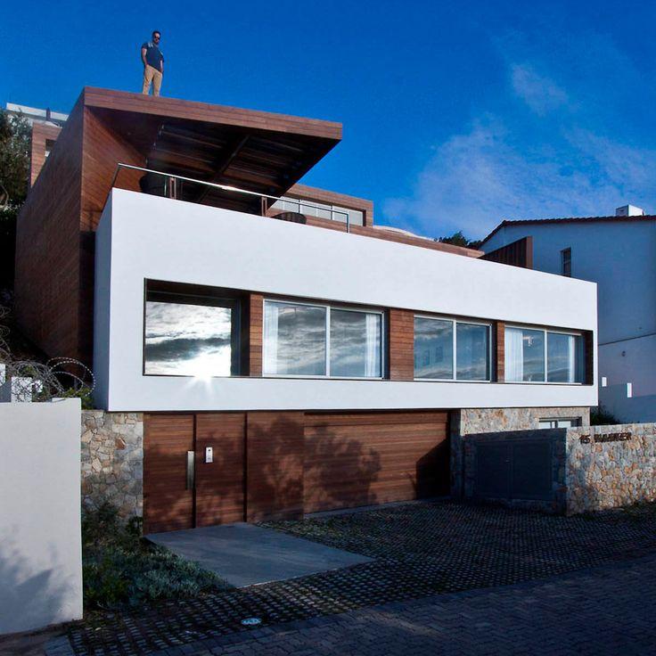 Современный дом Harker Street на прибрежном склоне от Greg Wright