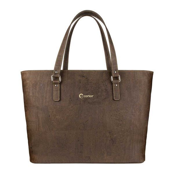 Cork Tote Bag Brown