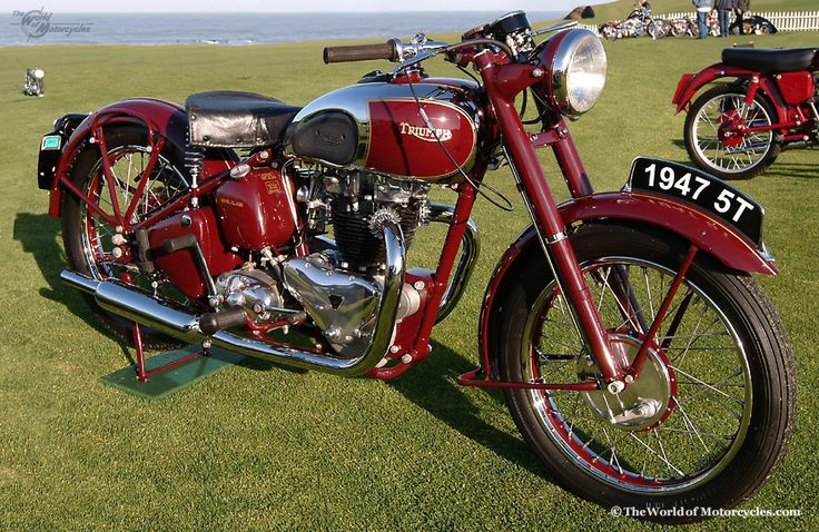 vintage motorcycles | Vintage 1947 Triumph 'Speed Twin' Motorcycle