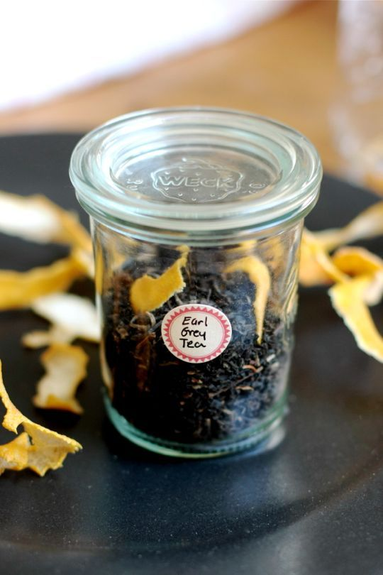 DIY Earl Grey Tea for Earl Grey Tea Haters (and Lovers, Too!) - I love Earl Grey, although I will probably never make this. Love the idea of it, though, and in the comments learned about Earl Grey Cream Tea! It has vanilla and cornflower in addition to the black tea and bergamot.  Must try!