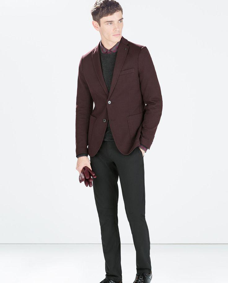7 best Zara Mens Blazer images on Pinterest