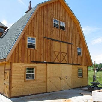 The ayrshire 36 gambrel style barns pinterest Gambrel style barns