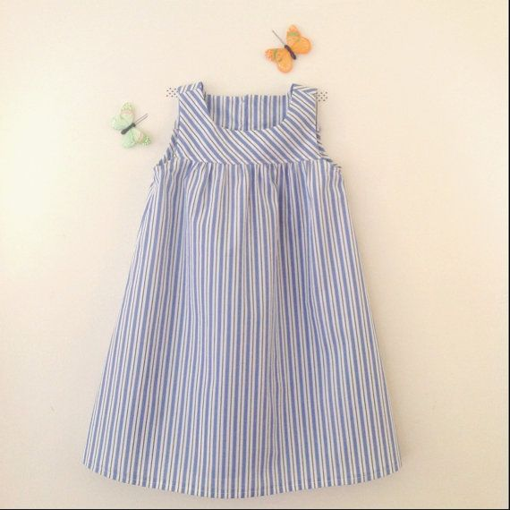 Stripes girl dress