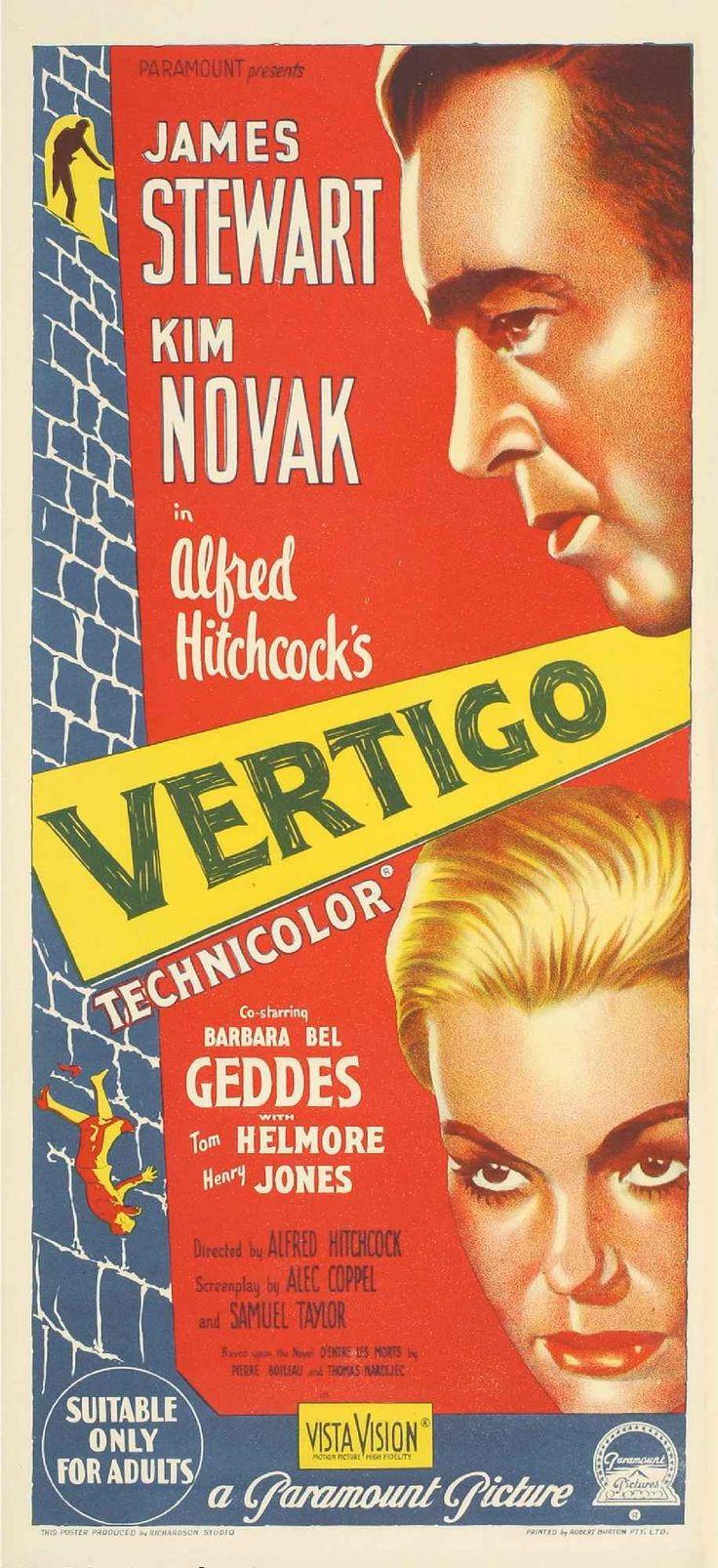 Vertigo (1958)   #Hitchcok