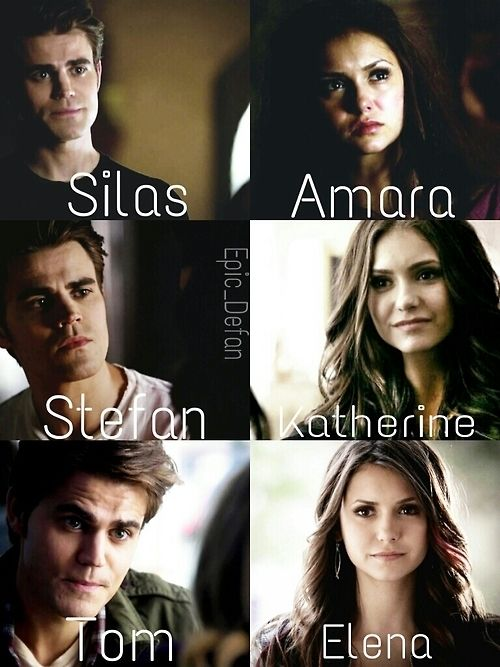 when I first saw this I thought it was showing couples...which made me realize that elena and tom would actually have been really cute together
