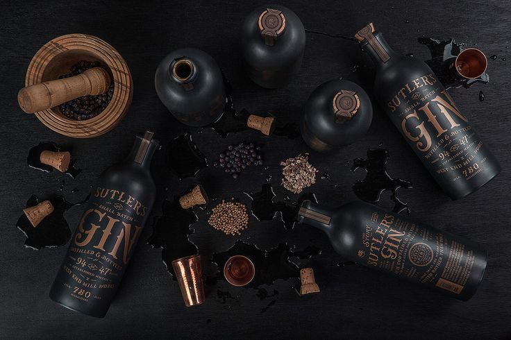 Sutler's Spirit Co. on Behance
