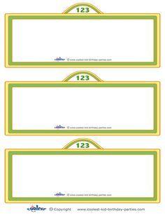 Blank Printable Sesame Street Sign Invitation - Coolest Free Printables