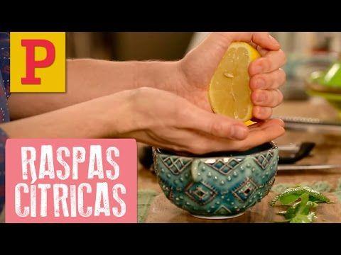 Como fazer raspas de cítricos e extrair o caldo do limão