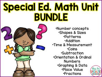 Get 4 math units for FREE with this bundle!! Each unit is designed to offer more hands on tasks that traditional curriculums offer. With these materials, your students will be able to master and generalize the math concepts.**There will be 15 units included in this bundle.