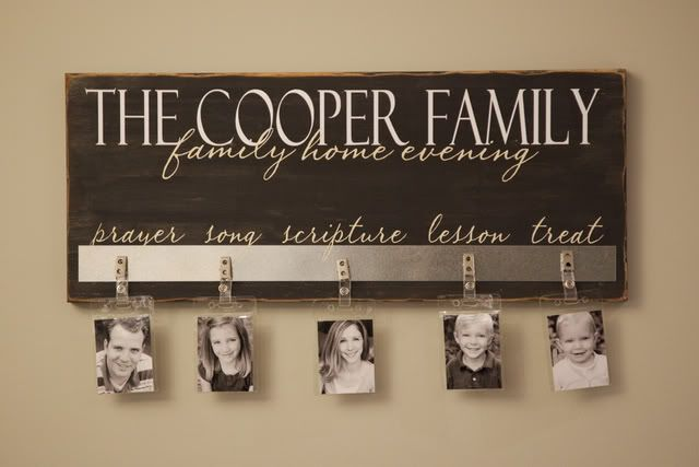 Family home evening chart church ideas pinterest for Idea door family home evening