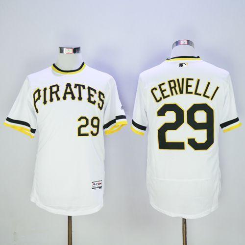 Men's Pittsburgh Pirates #29 Francisco Cervelli Camo Collection 2016 Flexbase Majestic Baseball Jersey