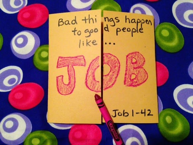 """VERSES:  Job 1:1-42:17   MEMORY VERSE:  Job 1:1 """"There was man in the land of Uz, whose name was Job...""""   BOOK TO REMEMBER:  Romans...."""