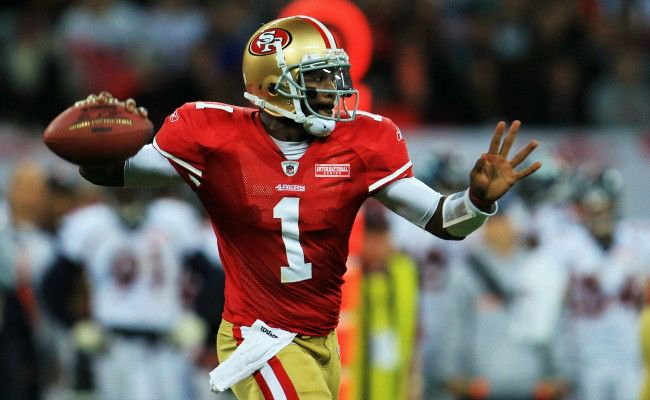 QB Troy Smith...Forty Niners