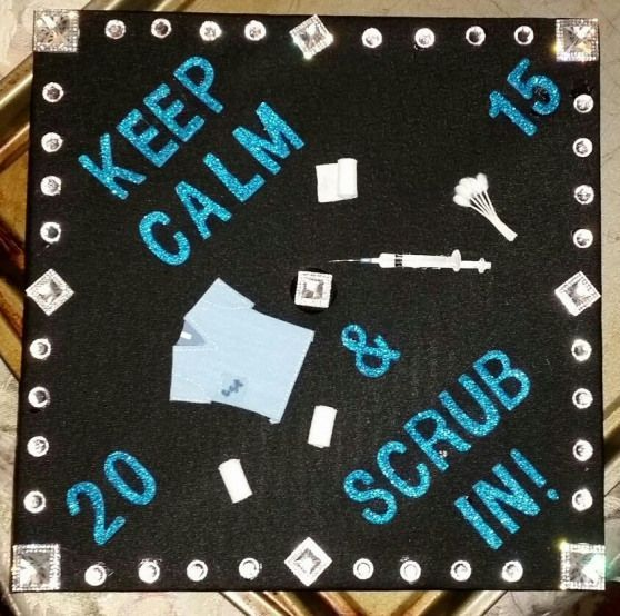 Surgical Technologist graduation cap #arteducation #art #education #graduation #...,  #art #a...