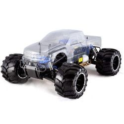 Redcat Racing Rampage MT V3 1/5 Scale Monster Gas RC Truck Clear