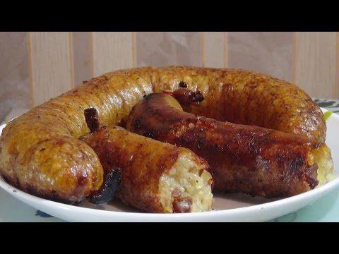 Картофельная колбаса- это безумно вкусно   (Potato sausage) - YouTube