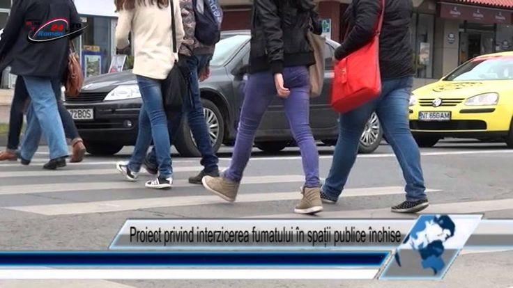 Proiect privind interzicerea fumatului în spații publice închise