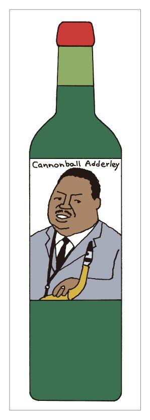 Cannonball Adderley by Makoto Wada