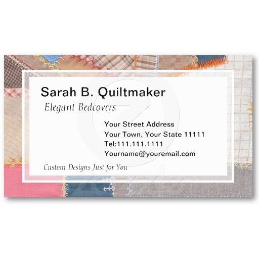 53 best quilters business cards images on pinterest business cards carte de visite and. Black Bedroom Furniture Sets. Home Design Ideas