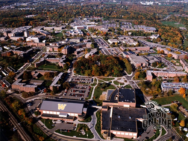Western Michigan University, Kalamazoo, Michigan.  One of the four regional universities that provide a higher quality university education in Michigan.
