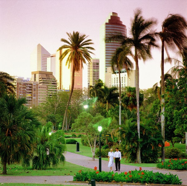 Enjoy the cities Botanic Gardens every day at 111 Quay