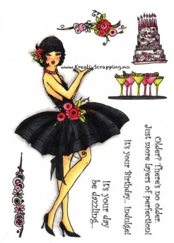 CRAFTERS COMPANION - FROU FROU - MARTINI GIRL - NYHET:  http://www.kreativscrapping.no/categories/frou-frou