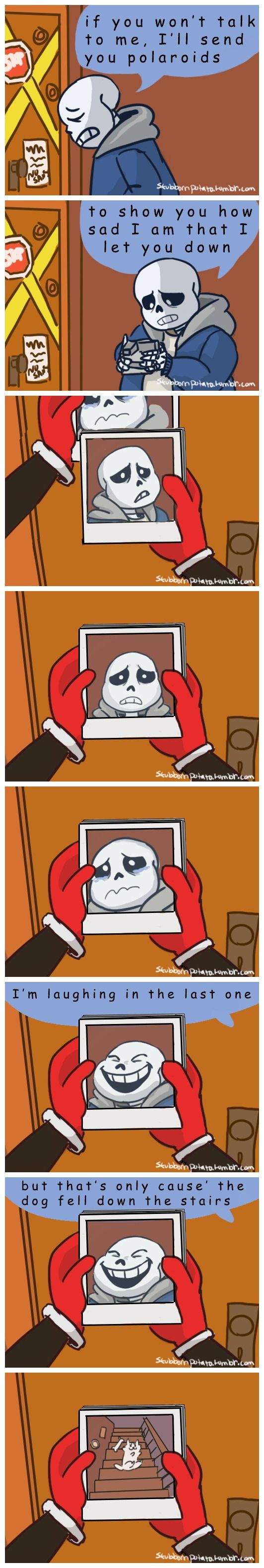 Sans and Papyrus - comic - Simpsons reference