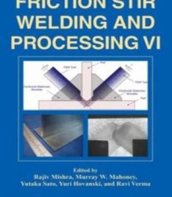 Friction Stir Welding And Processing Vi PDF