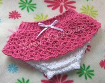 CROCHET PATTERN Ribbon Diaper Cover baby babies girl girls