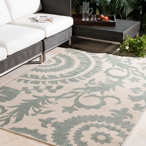 Sinclair 3'6″ x 5'6″ Rectangle Sage Area Rug