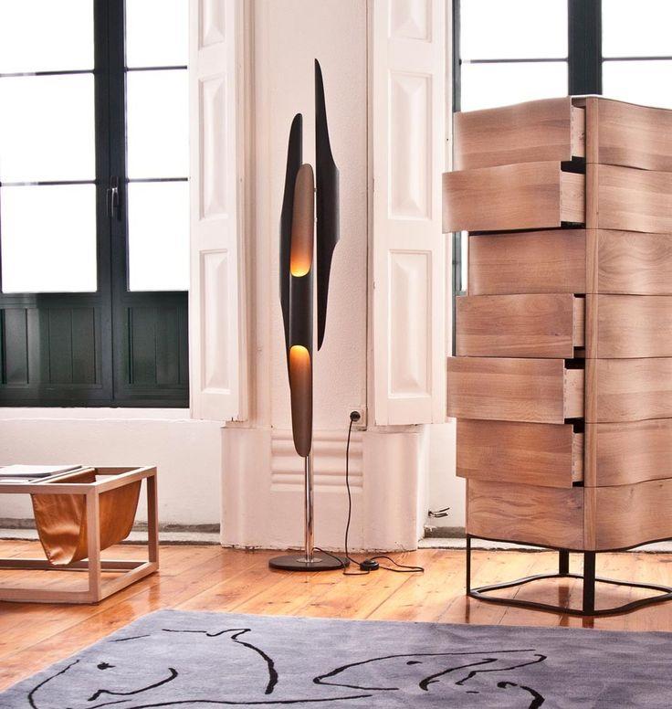 """Licht Und Objekt Wohndesign In Essen: Designer Stehlampe """"Coltrane"""" Im Vintage-Stil"""