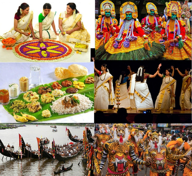 Onam The Harvest Festival Of Kerala, Onam Is By Far The