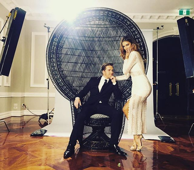 """The name's Bond ""... @hugh_sheridan  @firazzle #setlife #fundays"