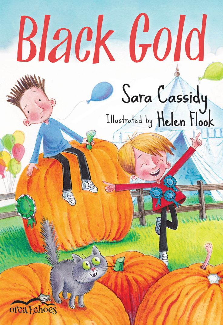 Black is the new gold. BLACK GOLD by Sara Cassidy and illustrated by Helen Flook