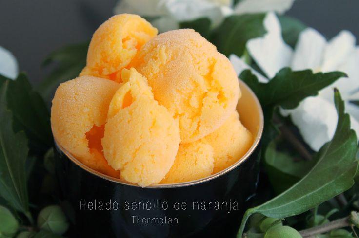 THERMOFAN: Helado sencillo de naranja (TMX / T)