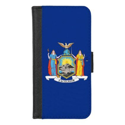 iPhone 7/8 Wallet Case with Flag of New Mexico - stylish gifts unique cool diy customize