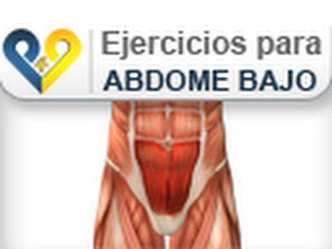 Ejercicios abdominales bajos : Elevacion