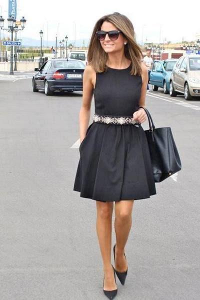 O que Usar com um Vestido Preto | Vestidos, Moda, Look fashion
